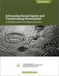 Advancing Racial Equity Resource Guide