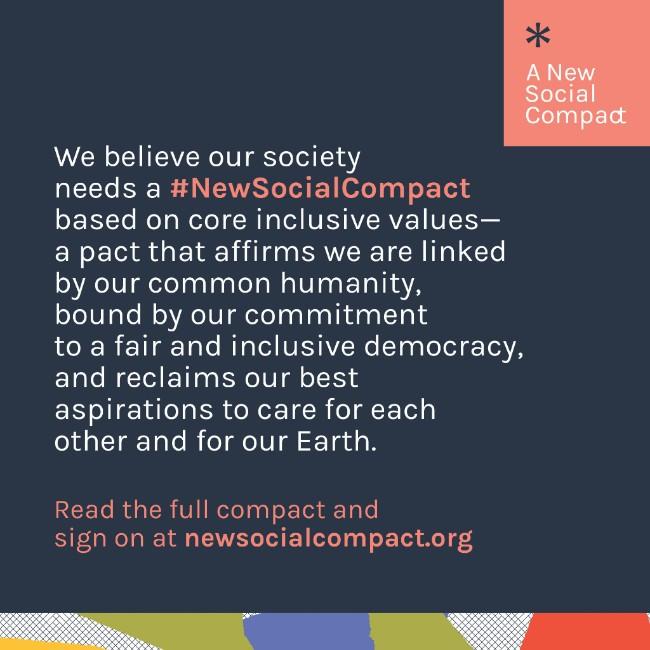 New Social Compact social media graphic