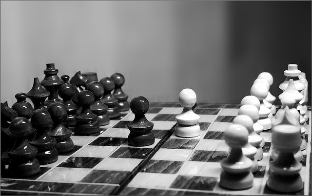 Conflict Chess II / Creative Commons License