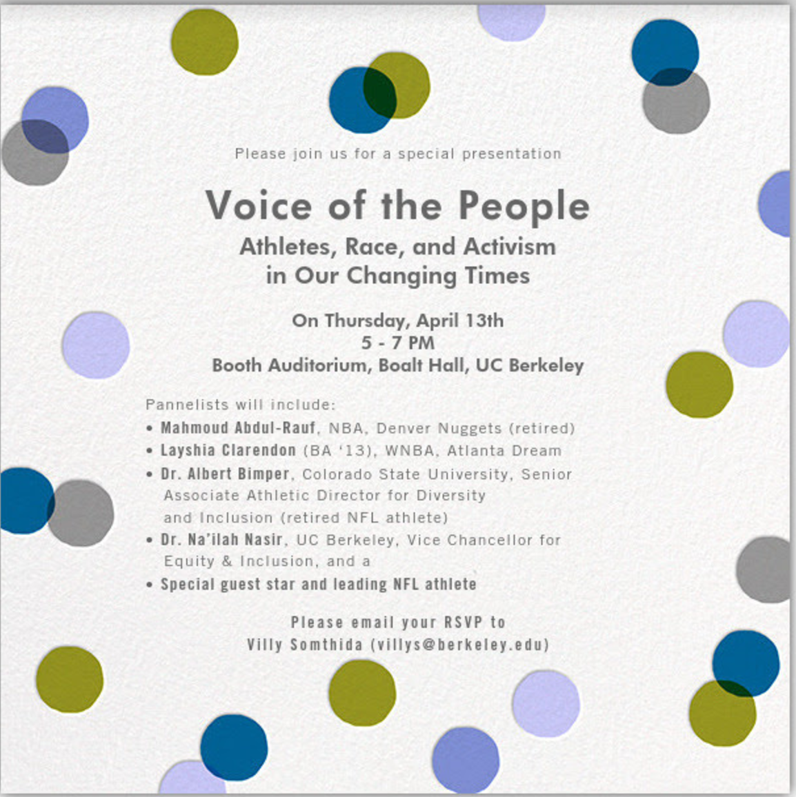 Invitation for Voice of the People
