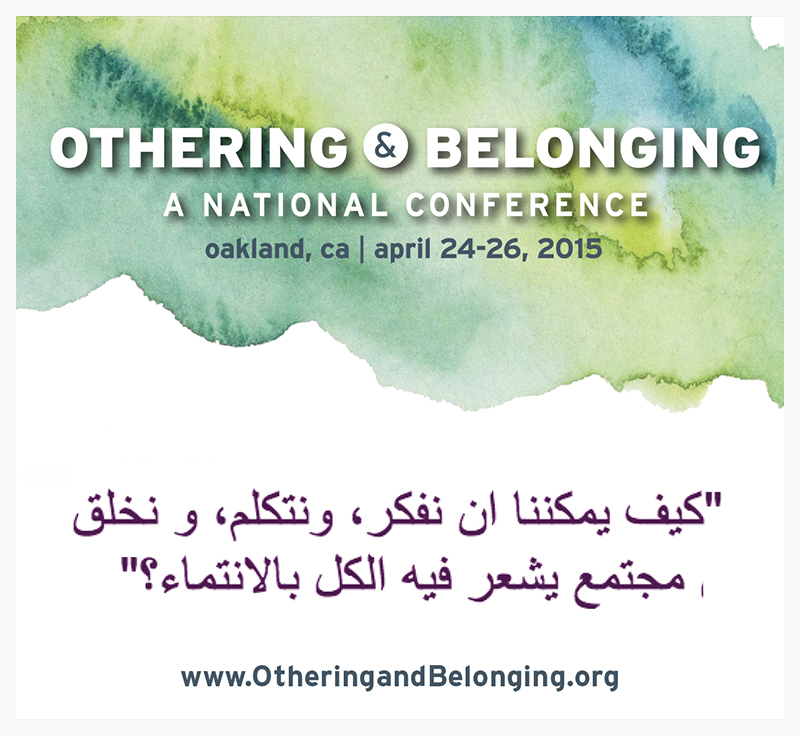 Arabic graphic image for Othering & Belonging