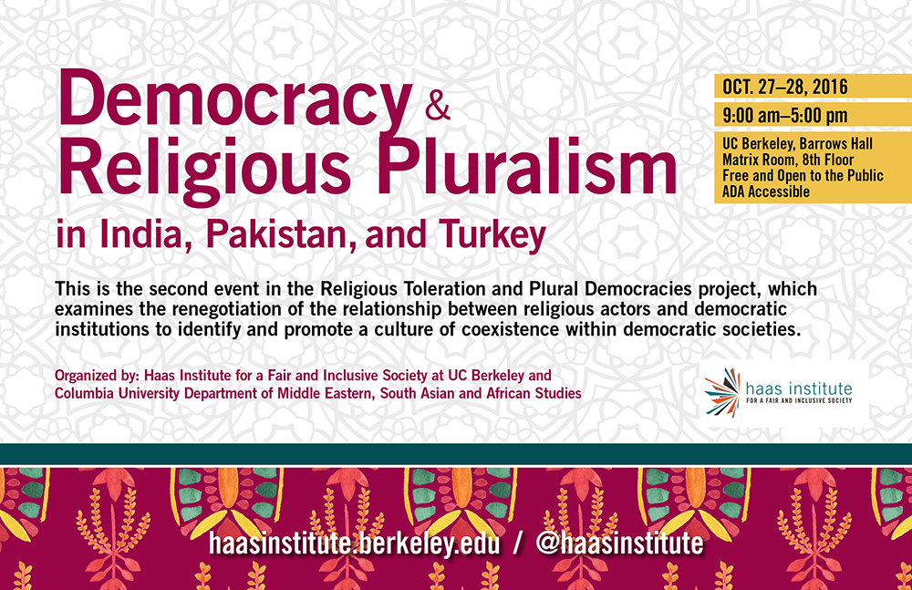 Democracy and Religious Pluralism Graphic