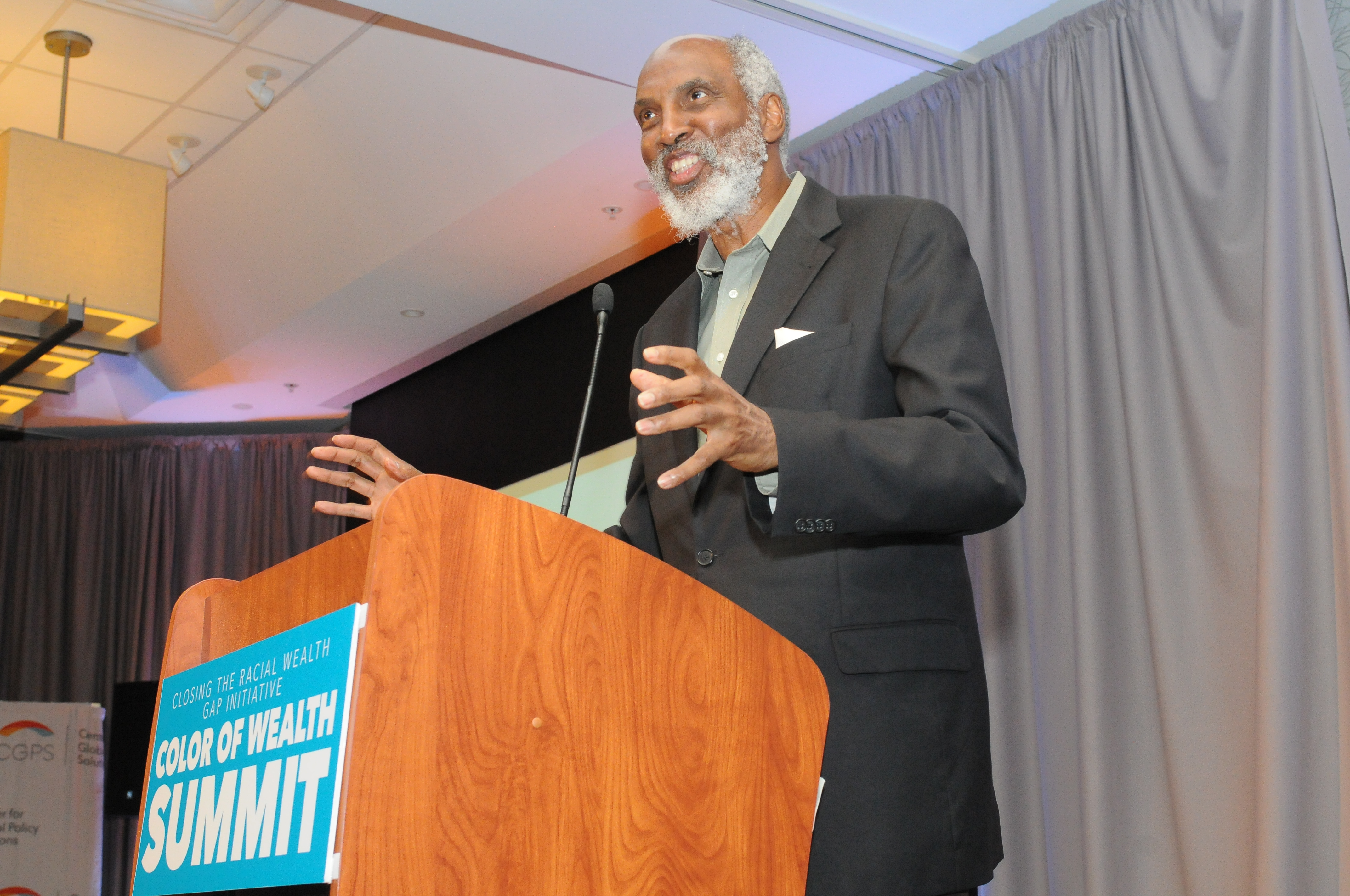 john a. powell at the 2015 Color of Wealth Summit. Photo Credit: Jason Miccolo Johnson