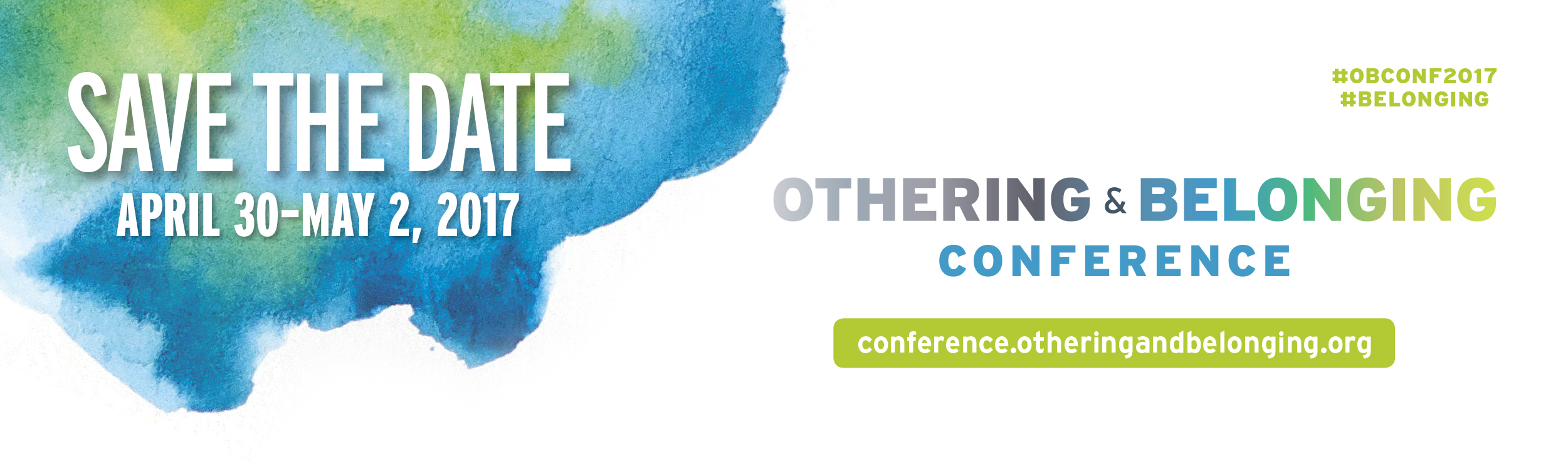 Othering and Belonging Save the Date Watercolor