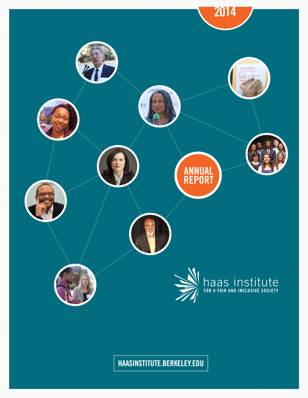 Cover of Haas Institute Annual Report