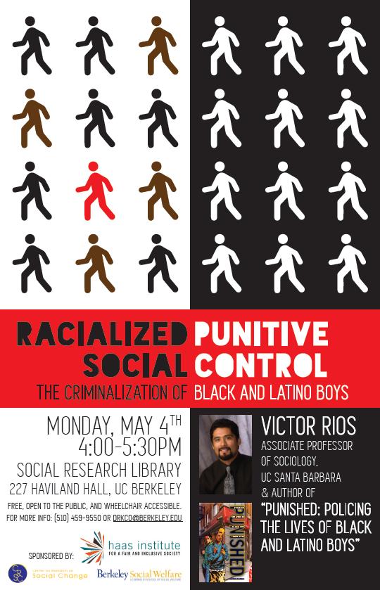 Racialized Punitive Social Control Flyer