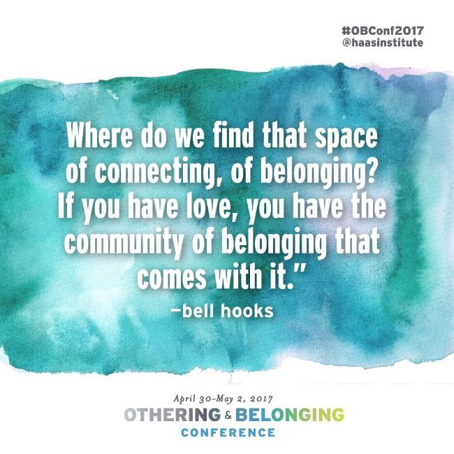 Othering & Belonging Conference header
