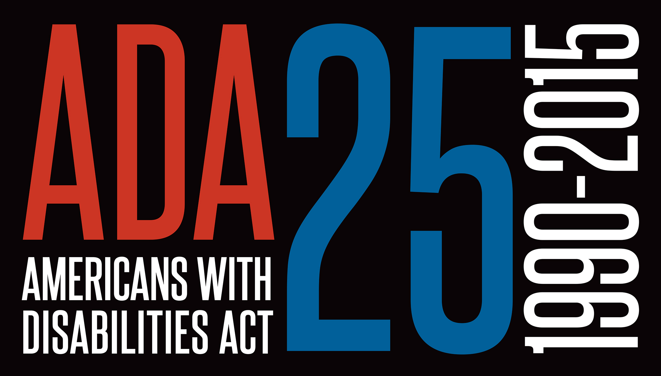 ADA 25 Years Graphic courtesy of the ADA Legacy Project