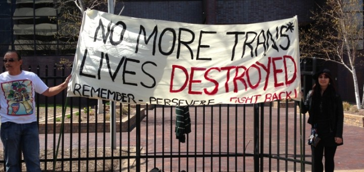 No More Trans Lives Destroyed/Creative Commons