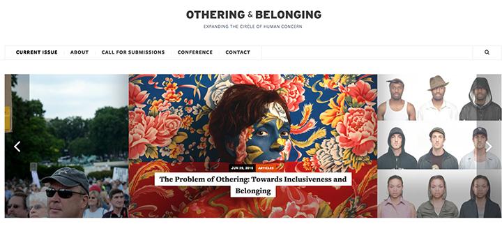 Othering & Belonging website shot