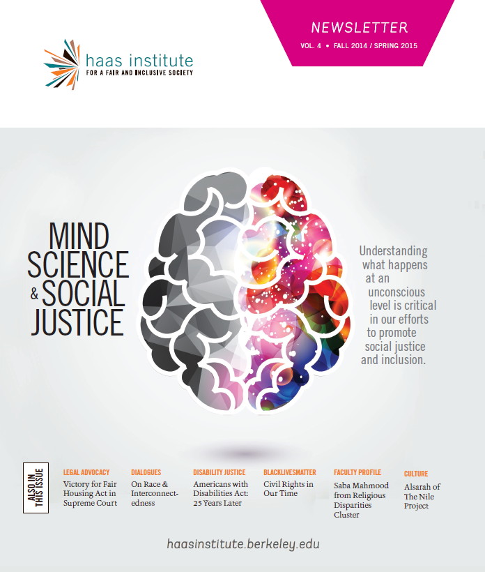 Haas Institute Newsletter Cover