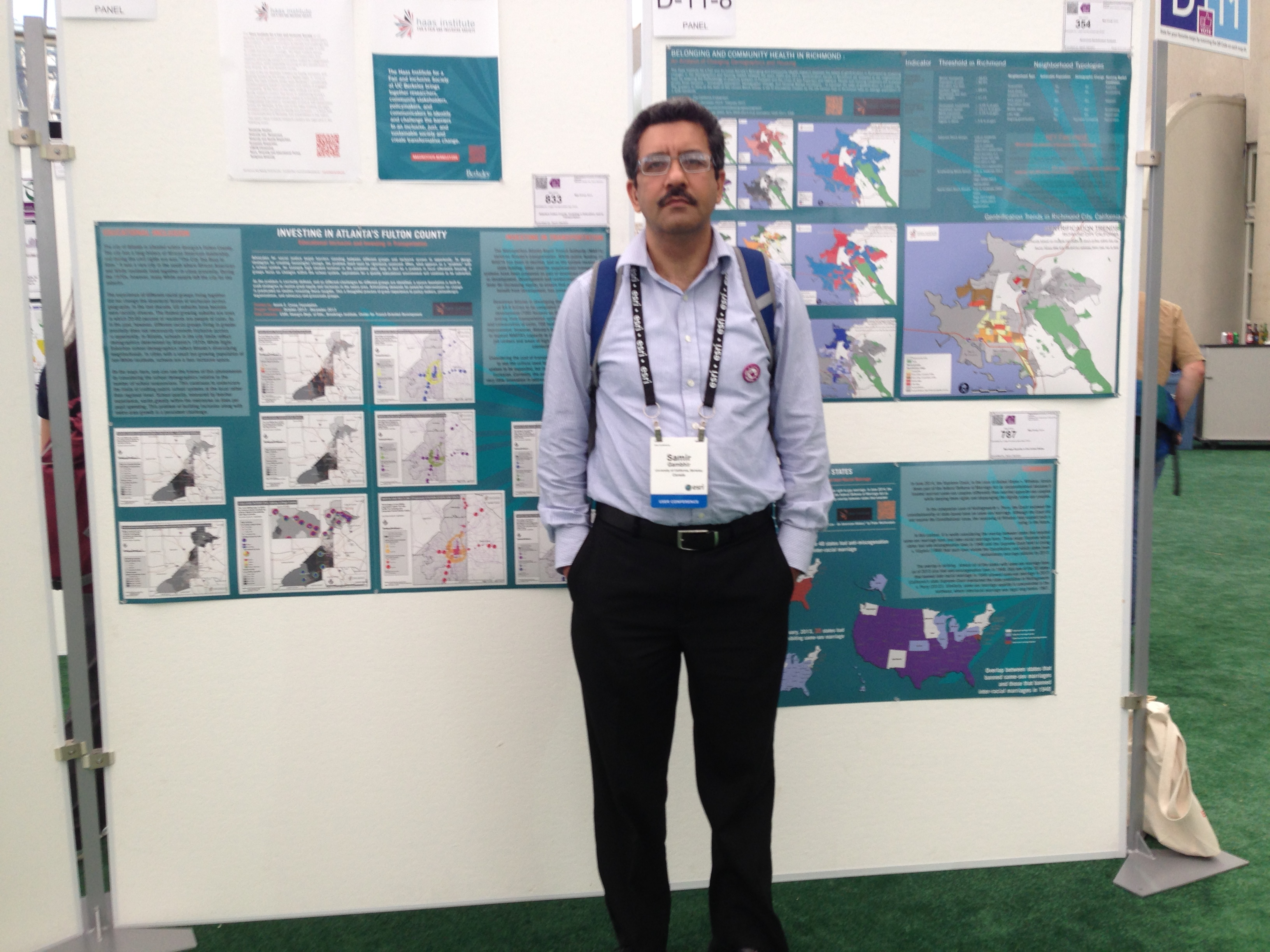Samir Gambhir at GIS Conference