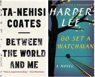 Between the World and Me and Go Set a Watchman Book Covers