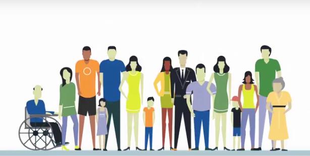 TU Video Screenshot of People