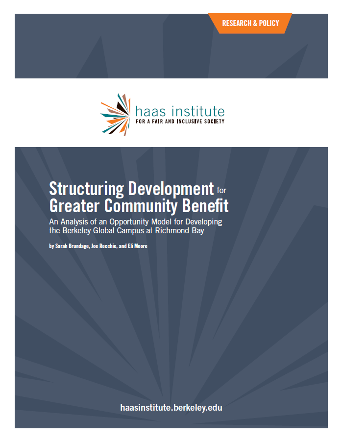 Structuring Development for Greater Community Benefit