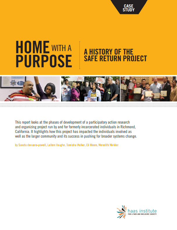 Home with a Purpose, Safe Return Project Case Study report cover