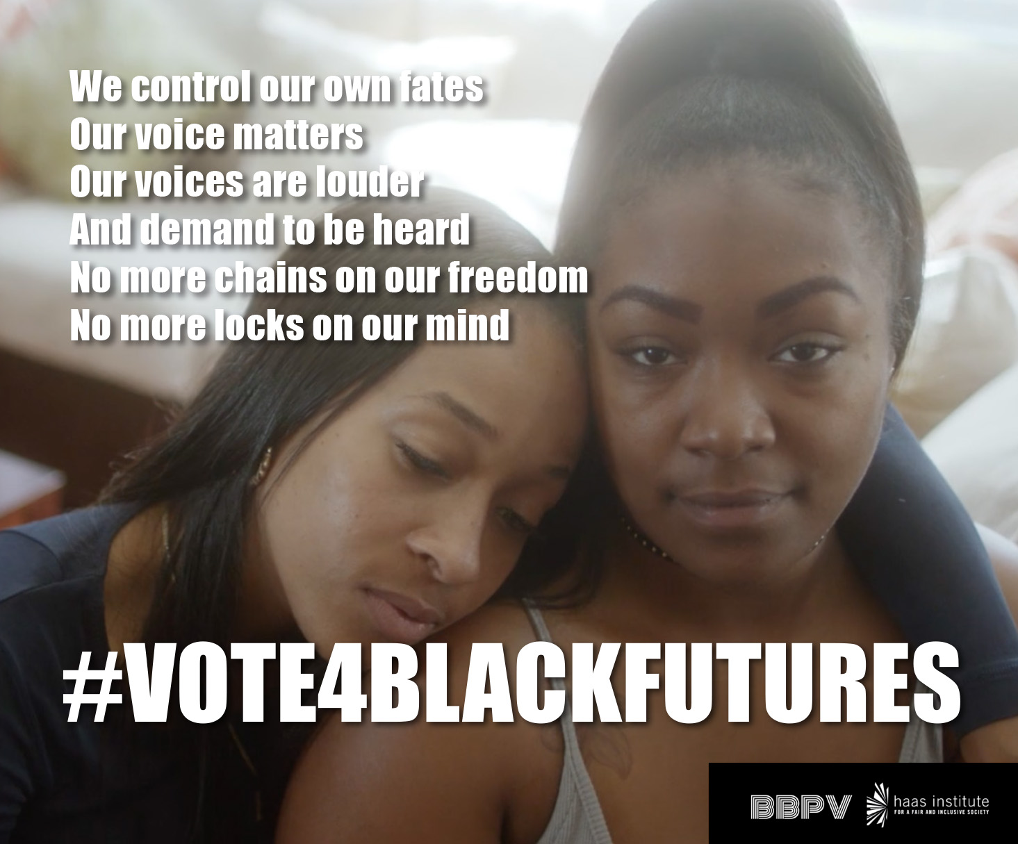 #Vote4BlackFutures video graphic - see full video at https://www.youtube.com/watch?v=Xyg5JAbAtlI&feature=youtu.be