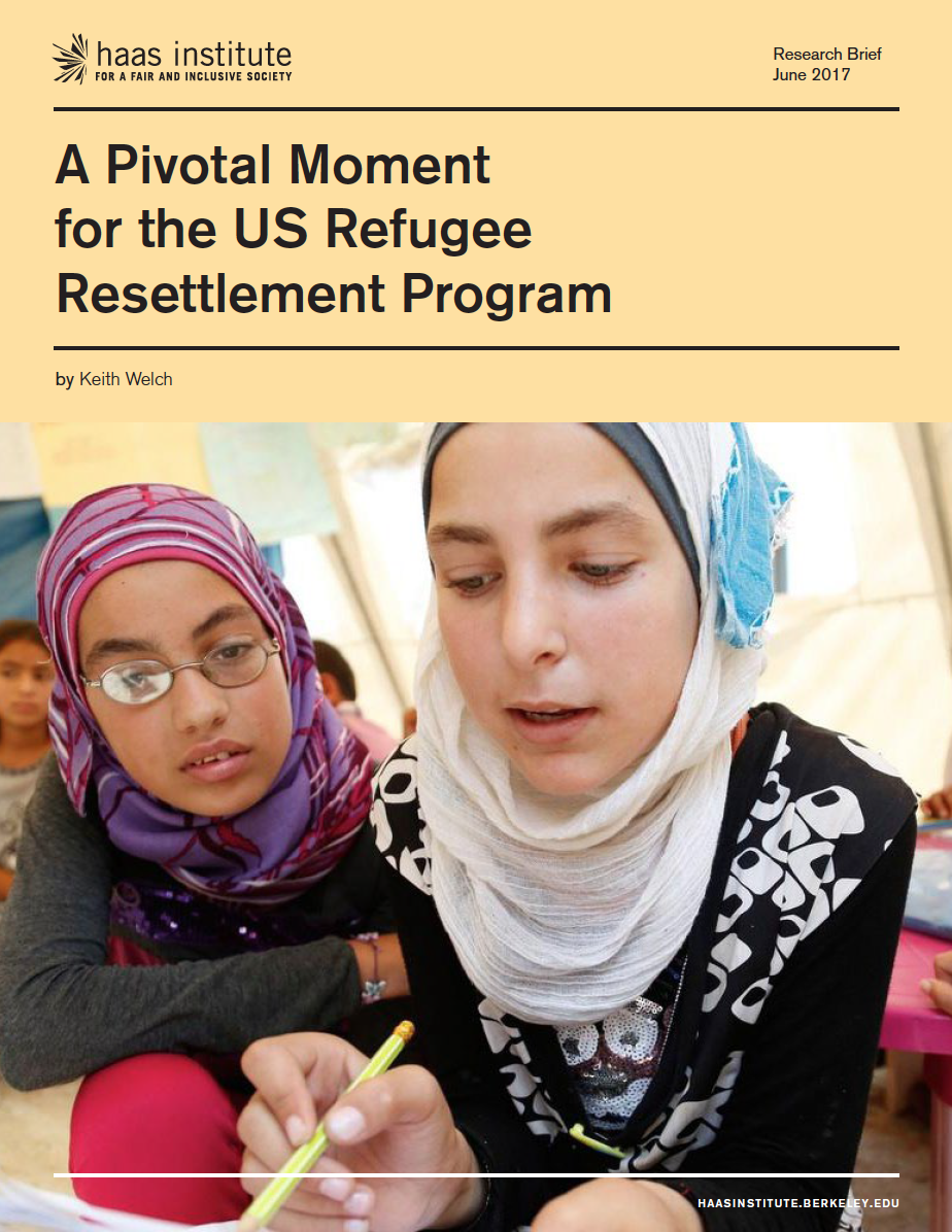 US Refugee Report cover