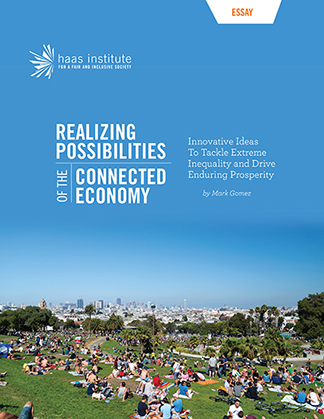 """Cover of """"Realizing Possibilities of the Connected Economy"""""""