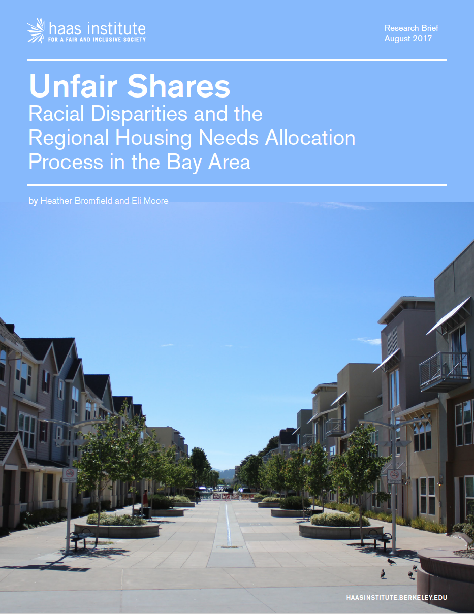 cover image of Unfair Shares report