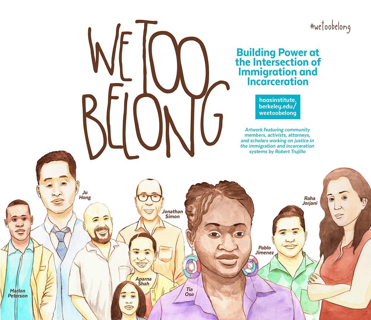 We Too Belong Poster
