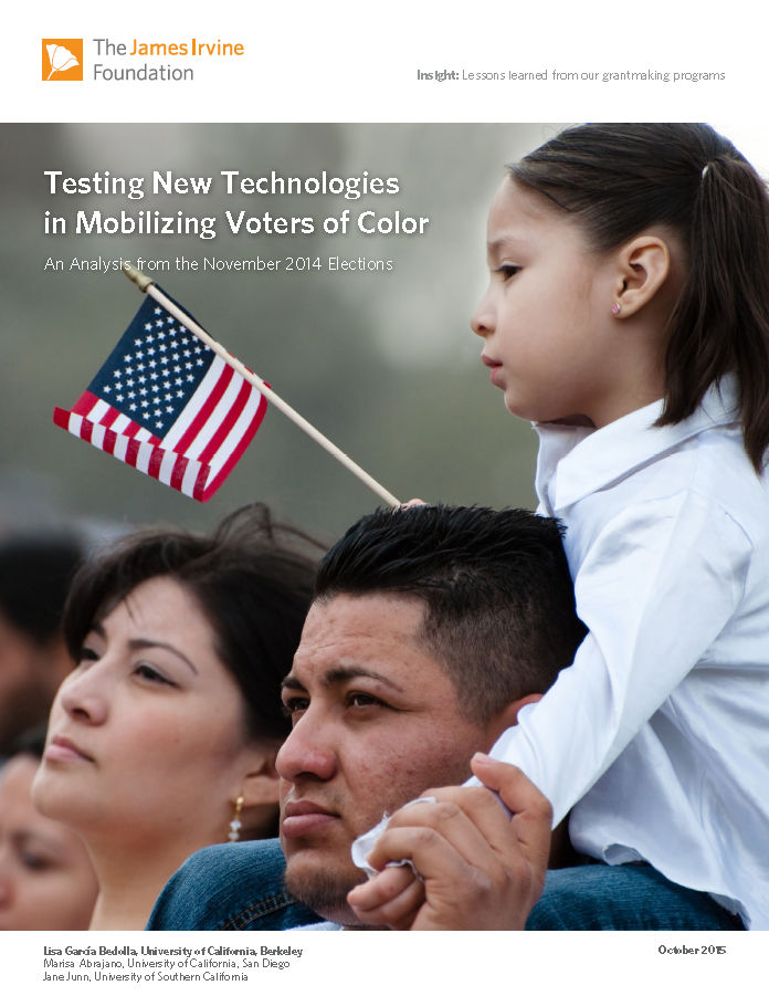 Testing New Technologies in Mobilizing Voters of Color