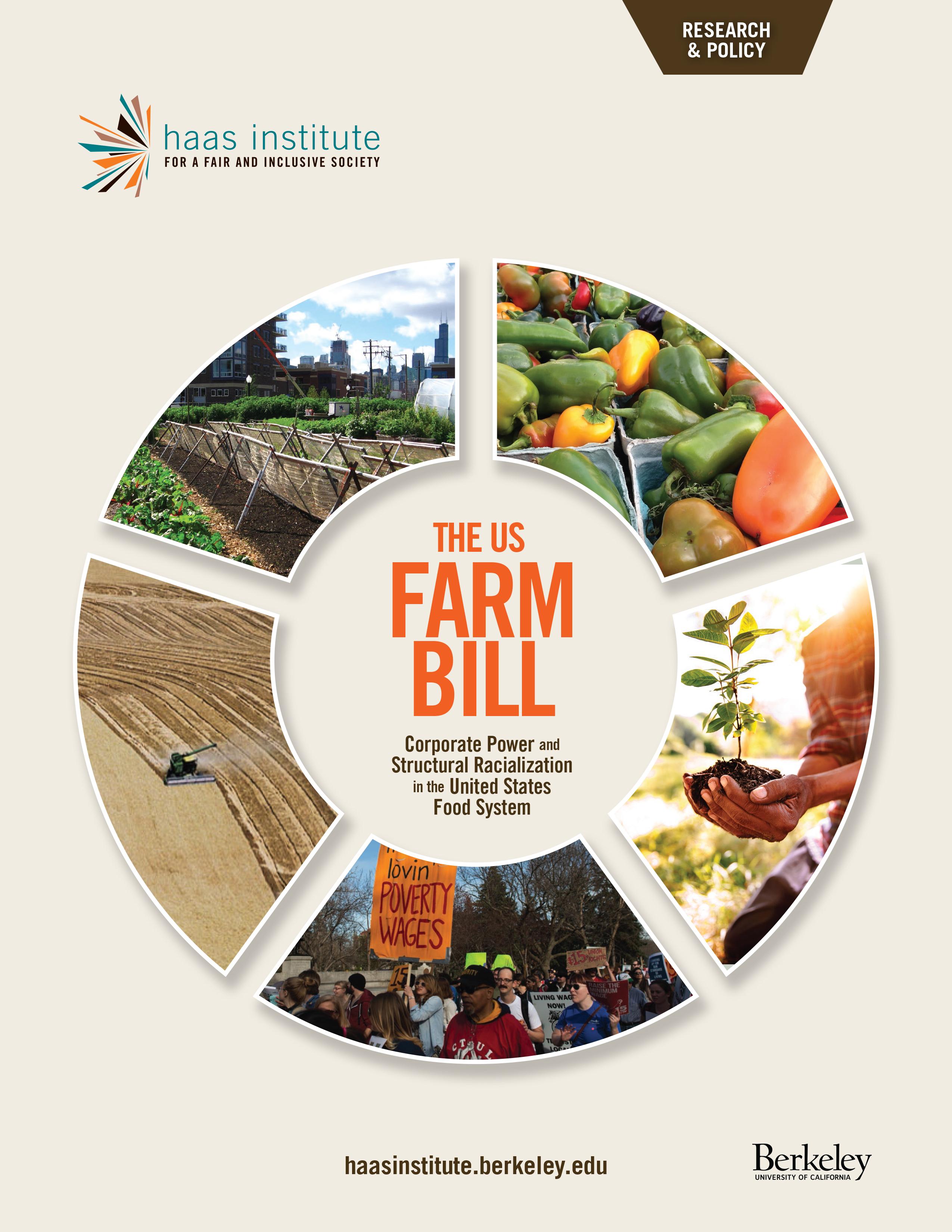 Cover of the US Farm Bill Report
