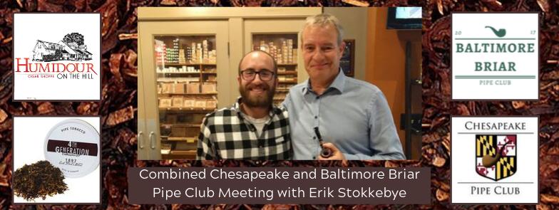 Pipe Club with Erik Stokkebye