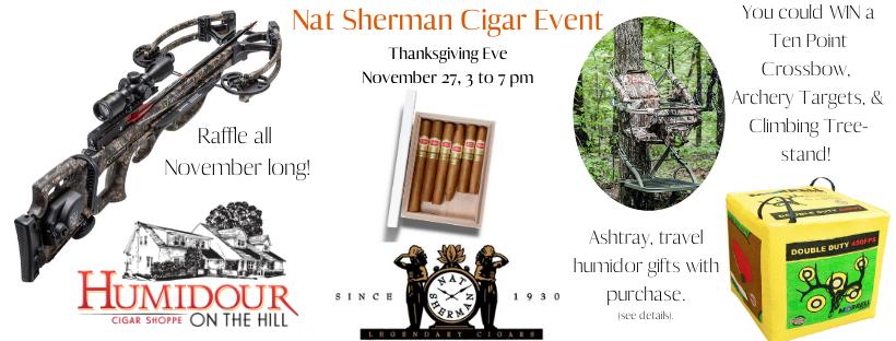 Nat Sherman Thanksgiving Eve