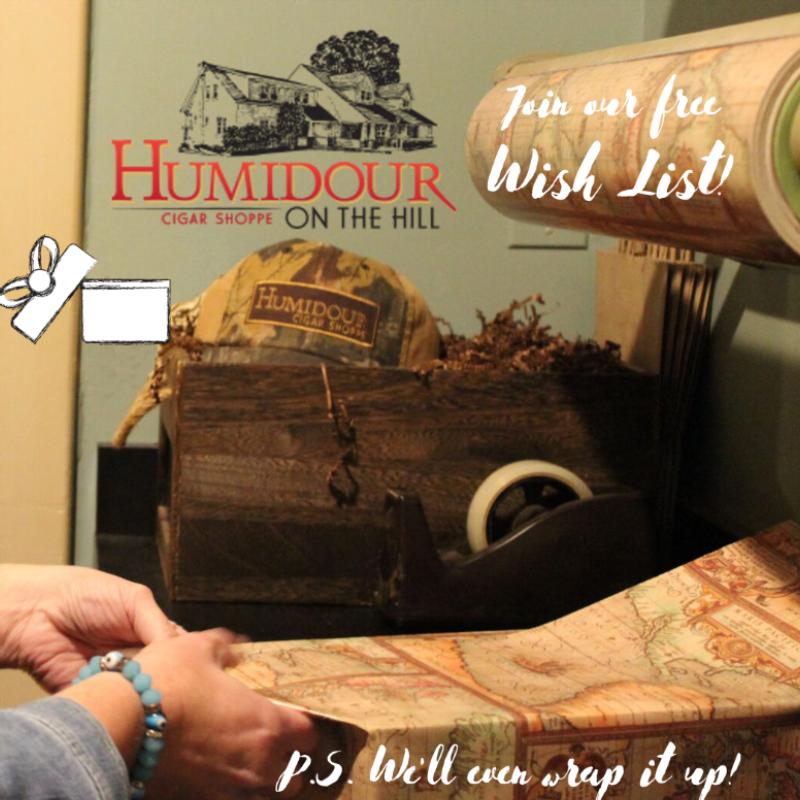 Humidour Wish List