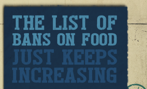 LIST OF BANNED FOOD