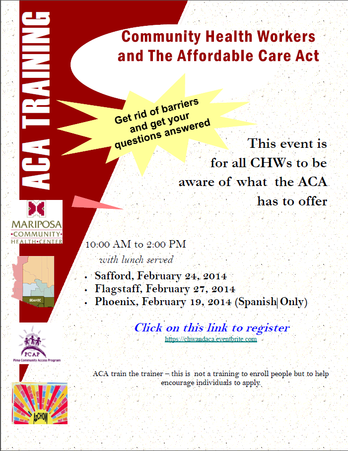 Community Health Workers and the Affordable Care Act