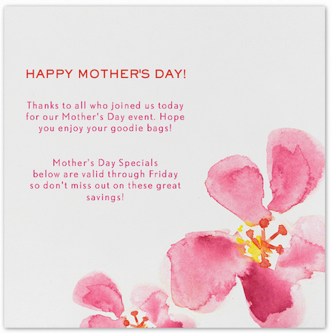 658fbdaa b389 461d 9008 66f36056faf0 Happy Mothers Day! Just For You...  | Austin Dermatology