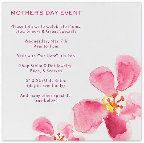 MD FF1j Mothers Day Special Event!  | Austin Dermatology