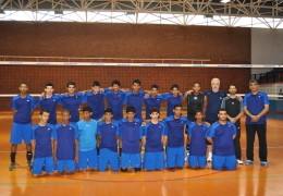 Al Jazeera Sporting Club Volleyball team from Abu Dhabi