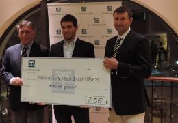 Seve Ballesteros Foundation Donation