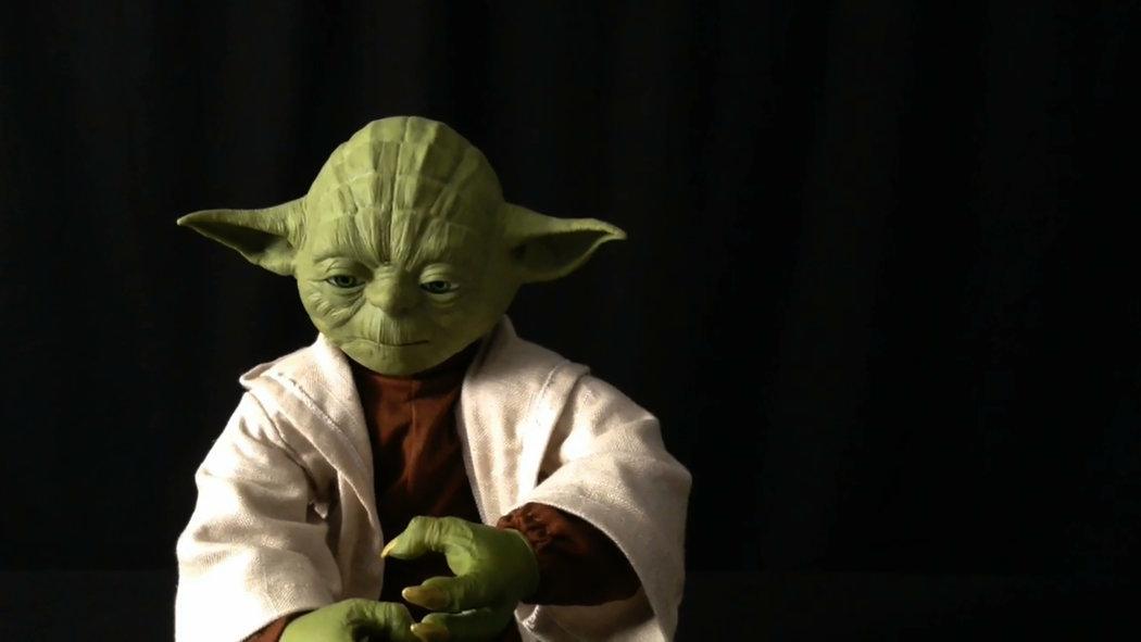 尤達大師(Yoda)。