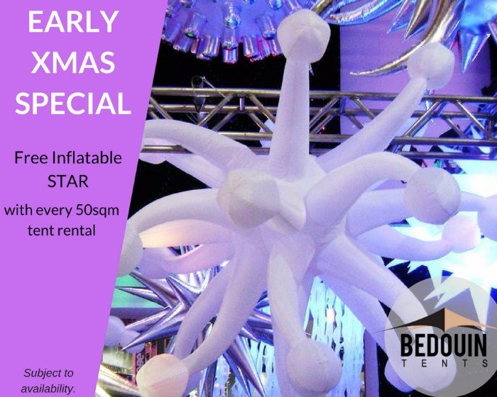 Free Inflatable Star offer