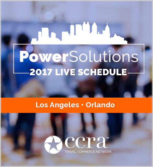 CCRA PowerSolutions Live Schedule