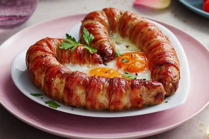 M&S are selling this amazing Love Sausage