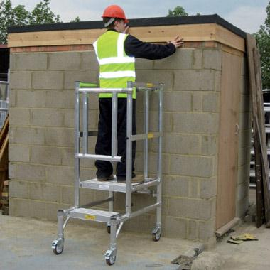 Why choose podium steps for working at height?