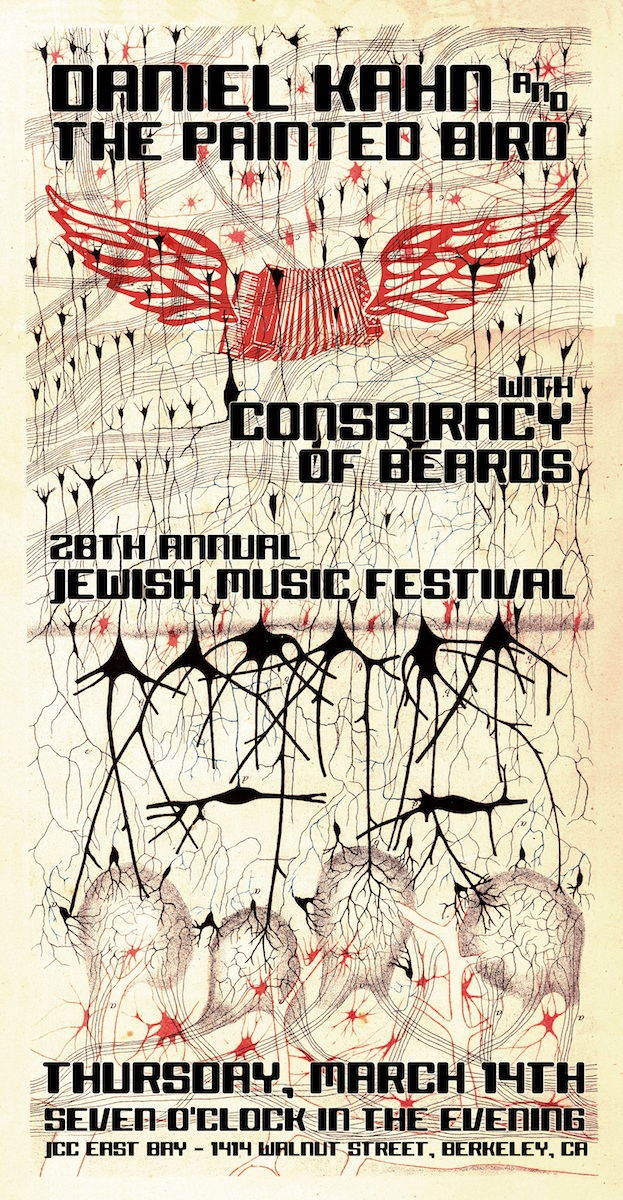 Daniel Kahn & The Painted Bird w/Conspiracy of Beards - 28th Annual Jewish Music Festival