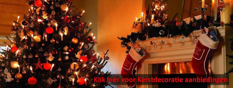 VanKaarstotServet Kerstdecoratie