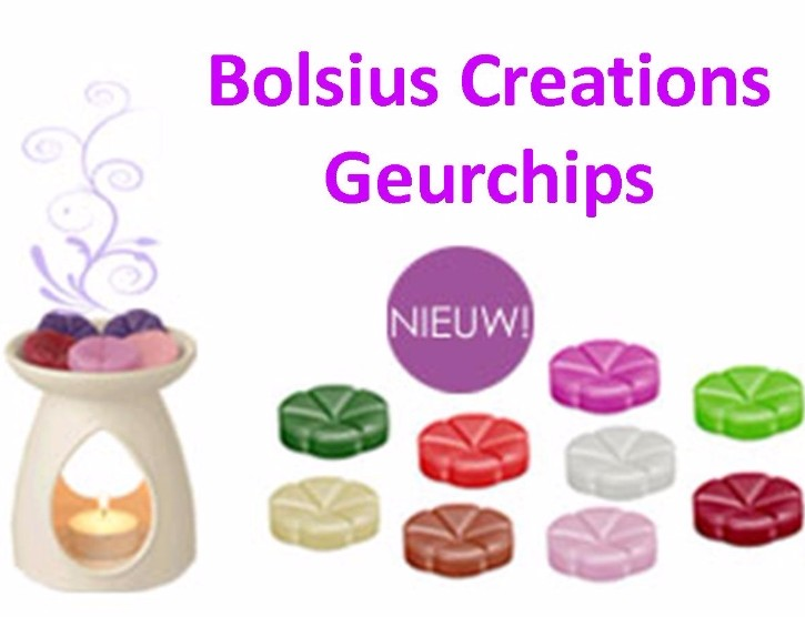 Bolsius creations geurchips