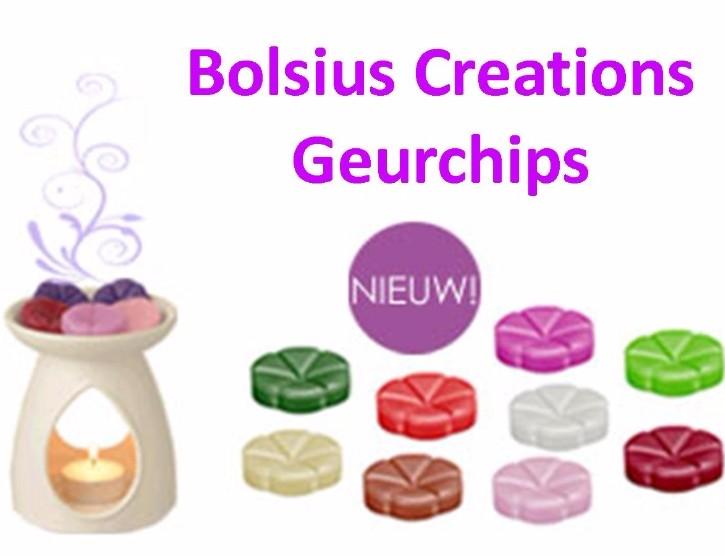 Bolsius creations geurchips