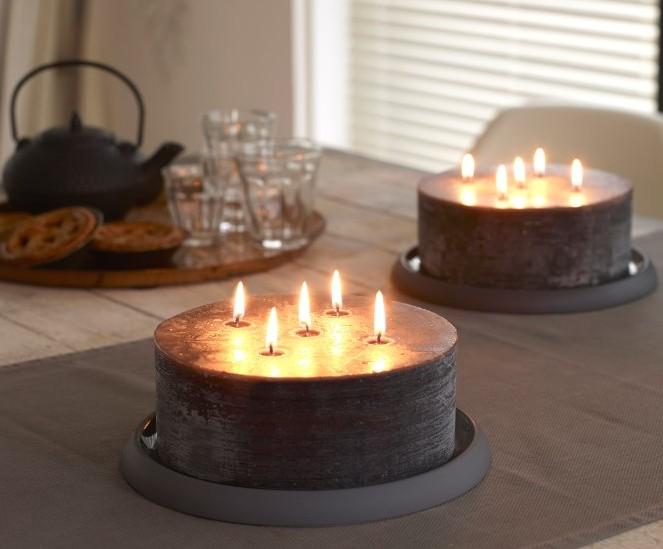 kaarsen met 5 lonten