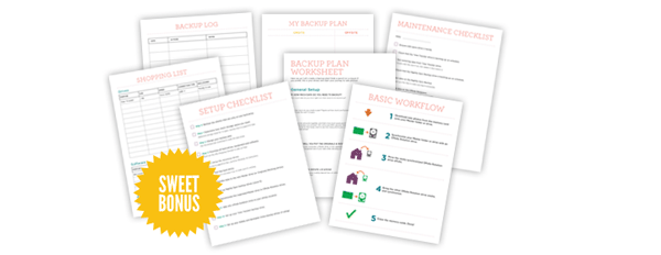 Bonus: 7 Worksheets To Help You Take Action