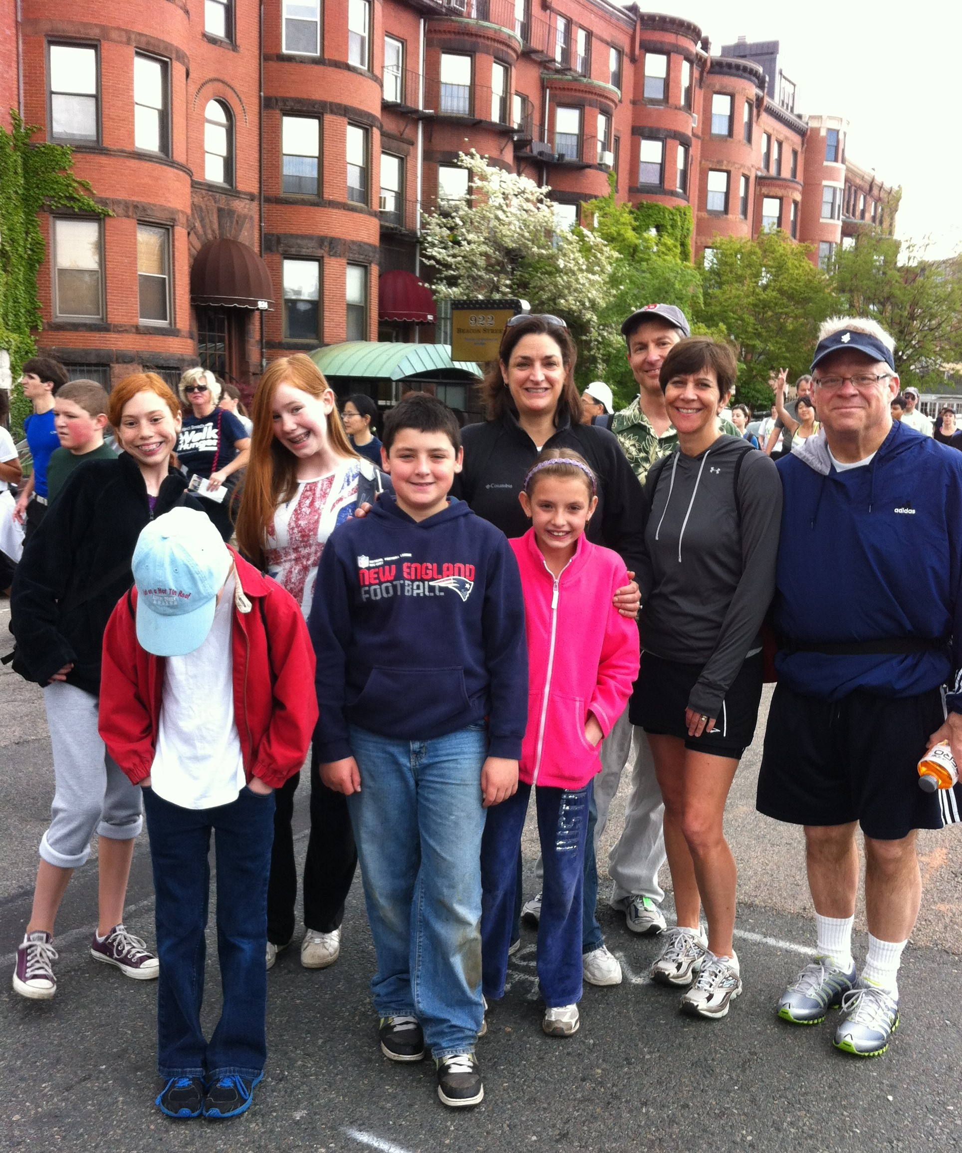 2012 Walk for Hunger participants from Grace