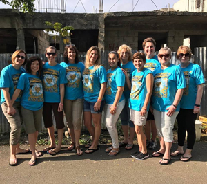 Women's Encounter Team Delivers Filters