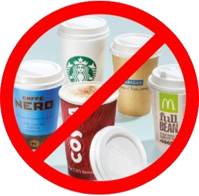 Stop Single Use Cups